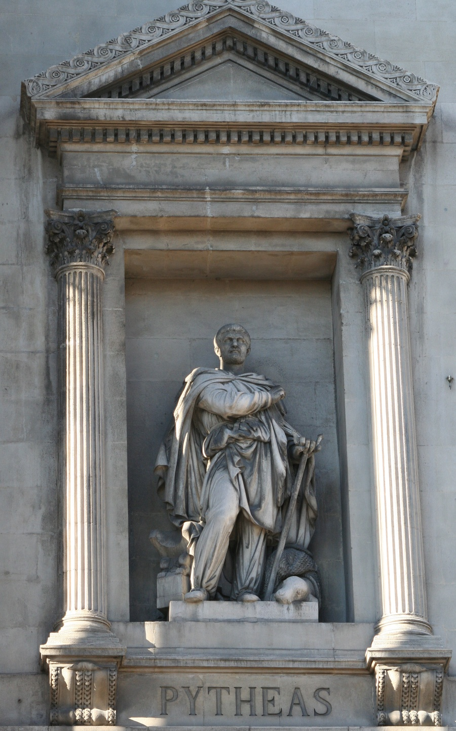 Figure 13: Statue Of Pytheas, Erected At The Palais De La Bourse In  Marseille In Honour Of His Achievements (credit: Rvalette,