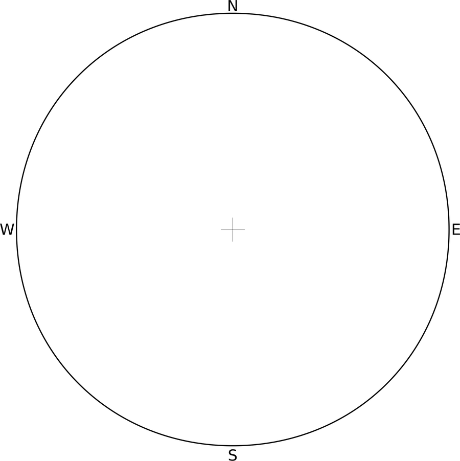 The Students Translate The Values Into The Stellarpass Below They Use  A Protractor And Indicate The Position Of Each Star On The Circle
